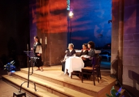 """Cantaderas. Medieval and traditional music. Festival """"Voix et route romaine"""" in Sigolsheim (France), 2017"""