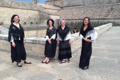 Cantaderas. Medieval and traditional music. Festival Rencontres Internationales de Thoronet (France), 2018
